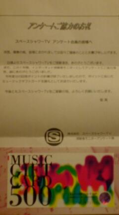 ミュージックギフトカード♪